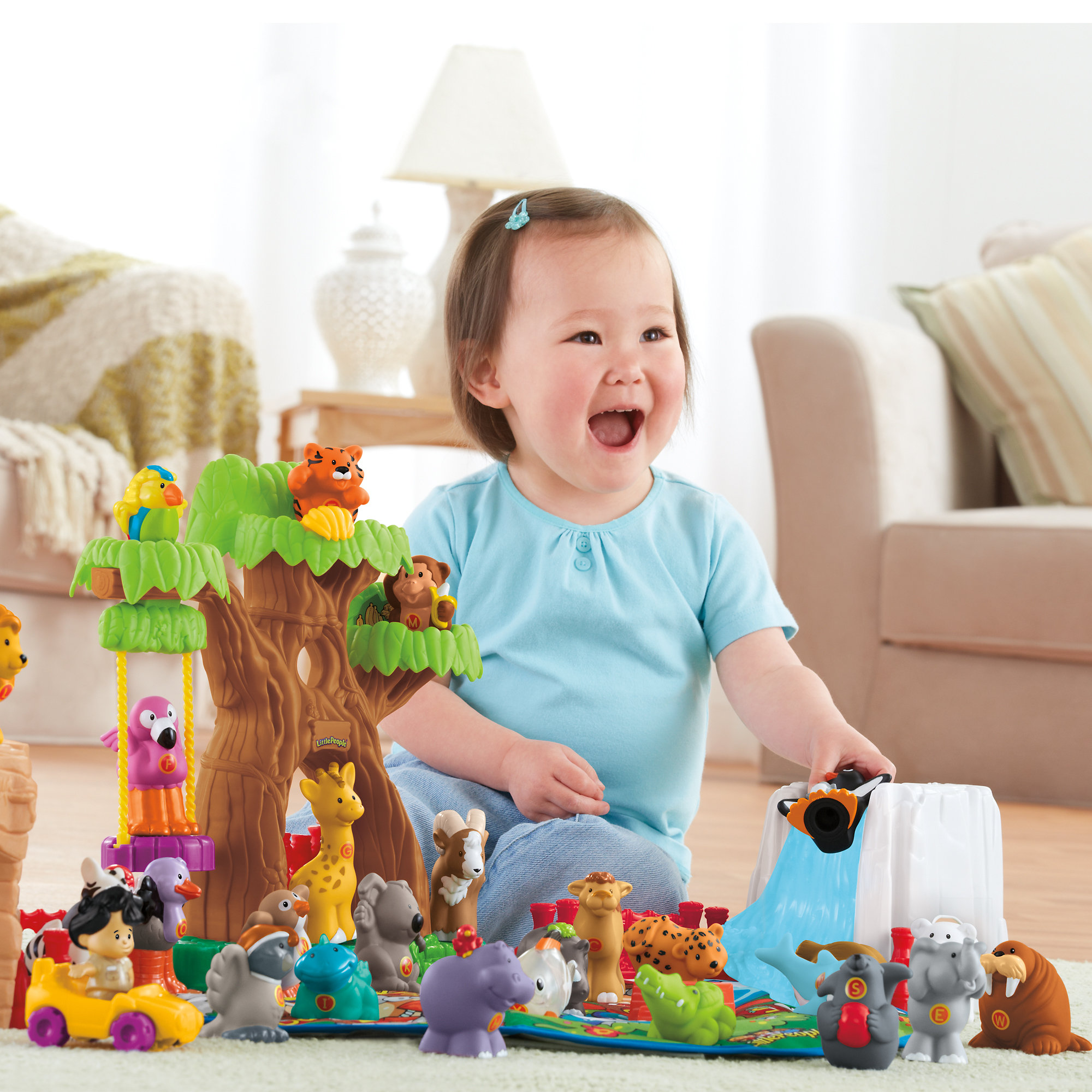 Fisher Price Little People A To Z Learning Zoo by Mattel