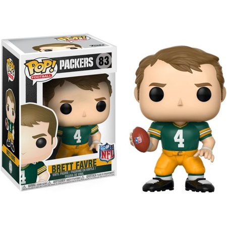 FUNKO POP! SPORTS: NFL Legends - Brett Favre (Green Bay (Brett Favre Green)