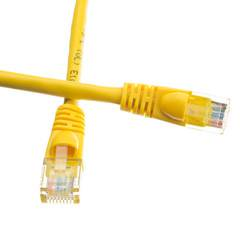 CableWholesale 10X6-08114 Cat5e Yellow Ethernet Patch Cable  Snagless Molded Boot  14 foot