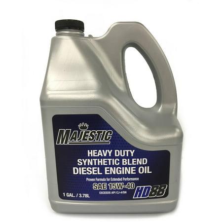 Shell Rotella T4 >> Majestic API CJ4 15W40 G Engine Oil - Walmart.com