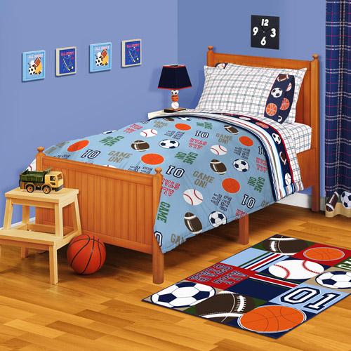 "American Kids All Stars 63"" x 90"" Plush Blanket"