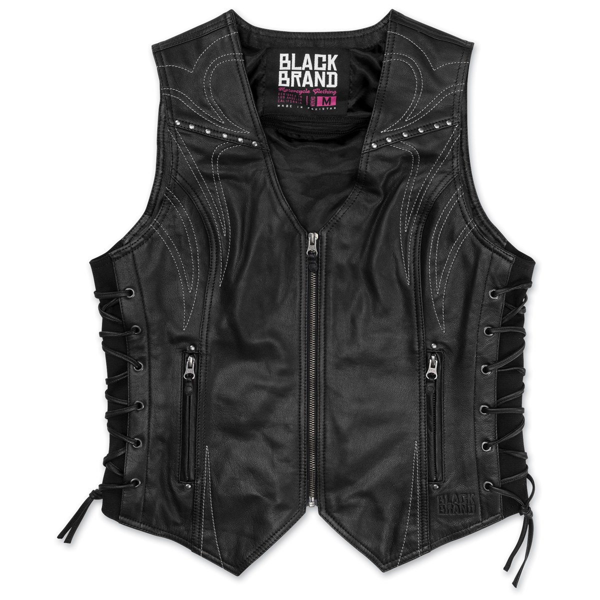 Black Brand Women's  Women's Janelle Leather Vest