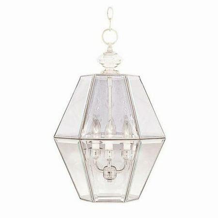 Maxim 90350 White Bound Glass 3 Light Lantern Pendant Glass Bar 3 Light Pendant