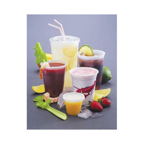 FABRI-KAL 12 Oz Drink Cups in Clear