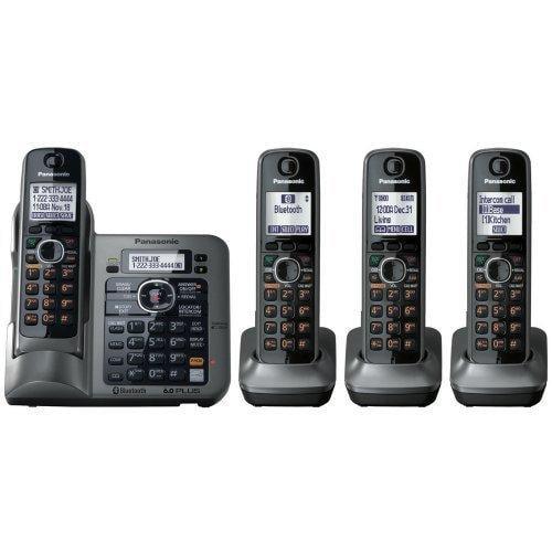 Panasonic KX-TG7644M Standard Phone - DECT