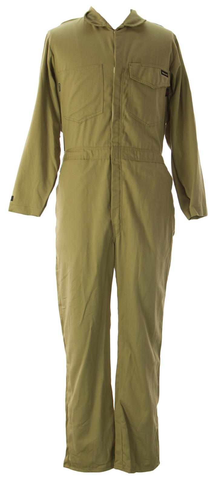 WORKRITE Men's Flame Resistant Coveralls Khaki by 131UT70KH