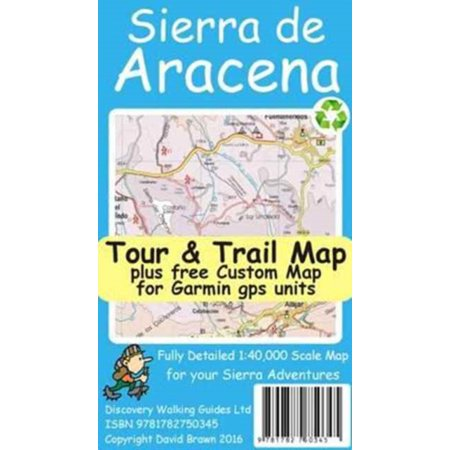 Tour De France Map - SIERRA DE ARACENA TOUR & TRAIL MAP