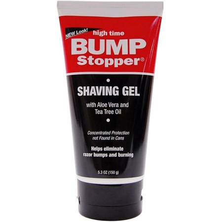 High Time  Bump Stopper Shave Gel W/Aloe & Tea Tree Oil 5.3 oz (Pack of - Tea Tree Oil Shaving