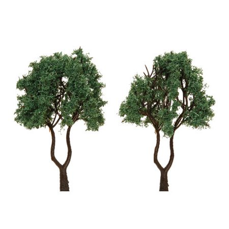 Diorama Tree Dual Trunk W.Pwdr 3.125In2Pc