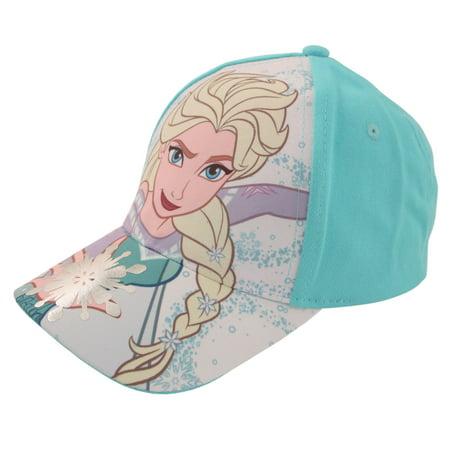 Disney Little Girls Frozen Assorted Character Cotton Baseball Cap, Age 2-7 - Girl Disney Characters