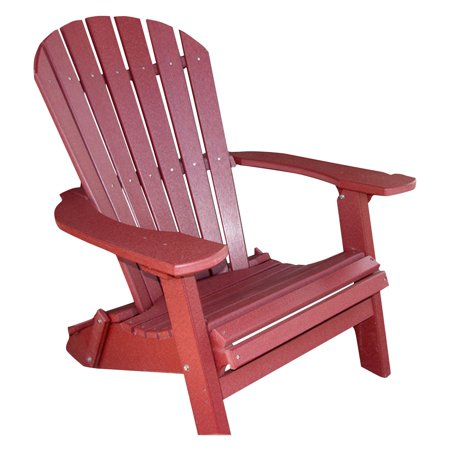 Phat Tommy Recycled Plastic Deluxe Folding Adirondack