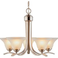 Boston Harbor 1571-5C Chandelier, 60 W, Medium , Base, 5 Lamp