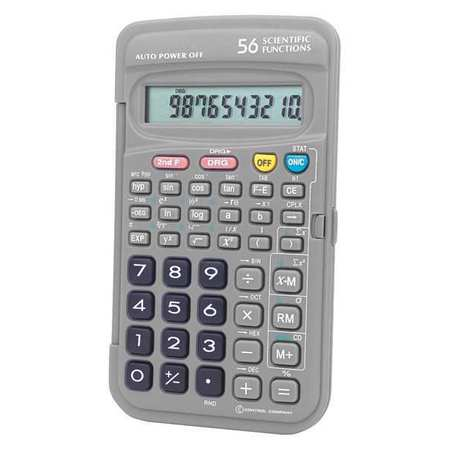 "5"" Portable Scientific Calculator, Control Company, 6024"