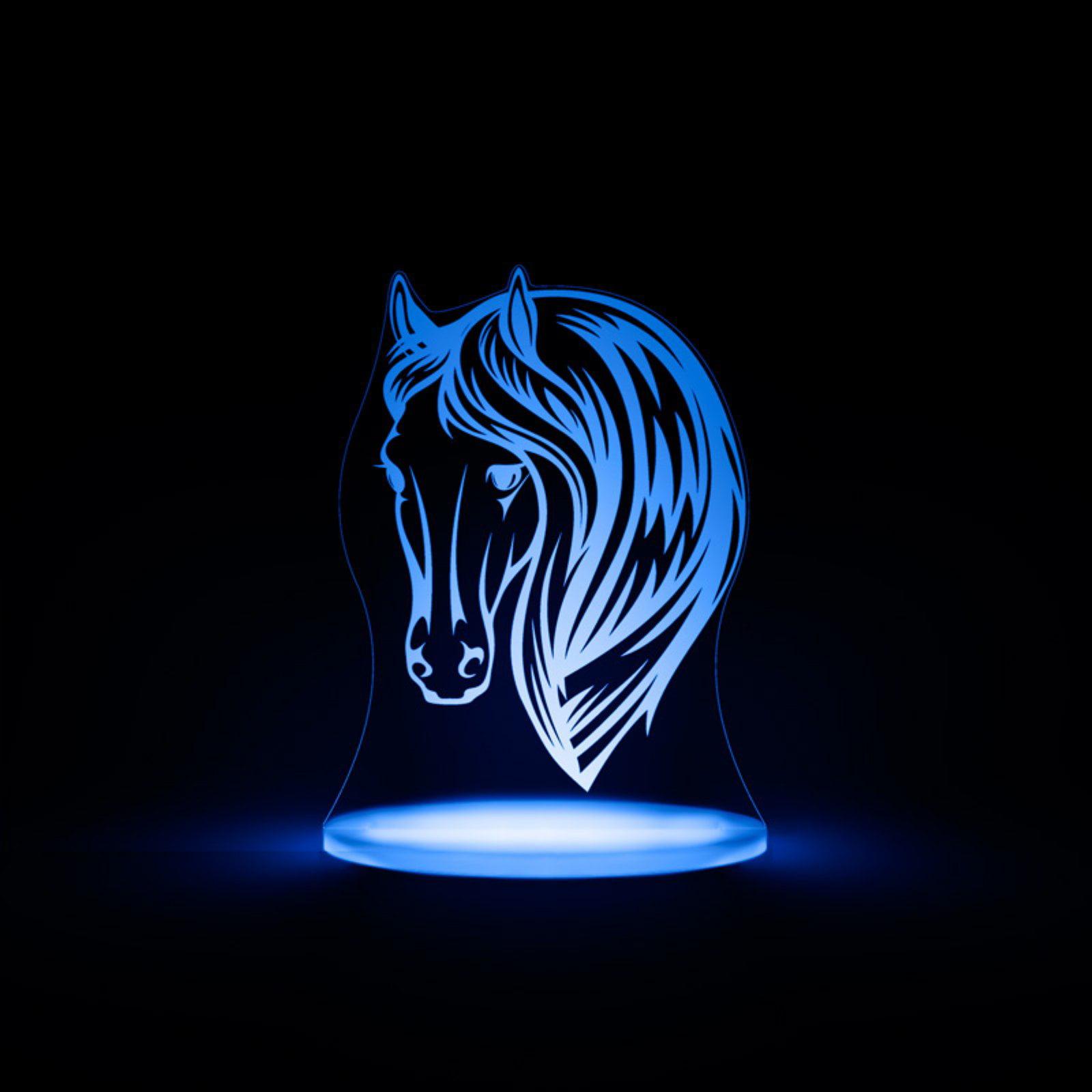 Total Dreamz Horse Multicolored LED Night Light