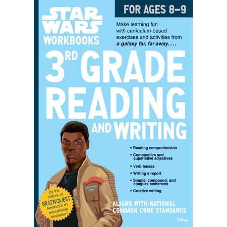 Star Wars Workbook: 3rd Grade Reading and Writing - Paperback