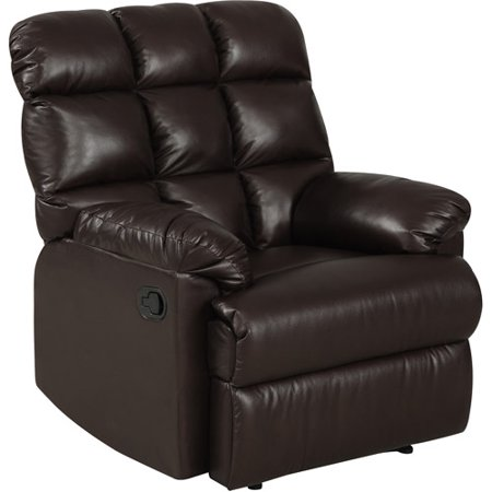 Prolounger Wall Hugger Biscuit Back Renu Leather Recliner
