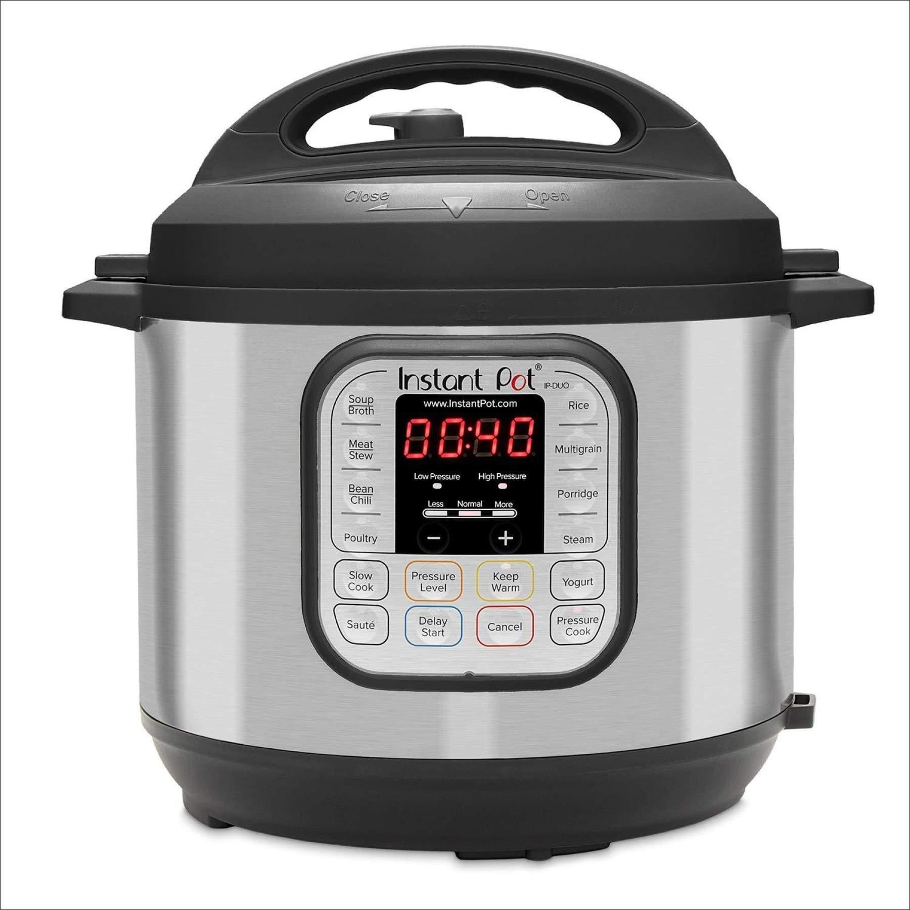 Programmable Pressure Cooker Stainless Steel Kitchen Saute Steamer Warmer 6 Qt