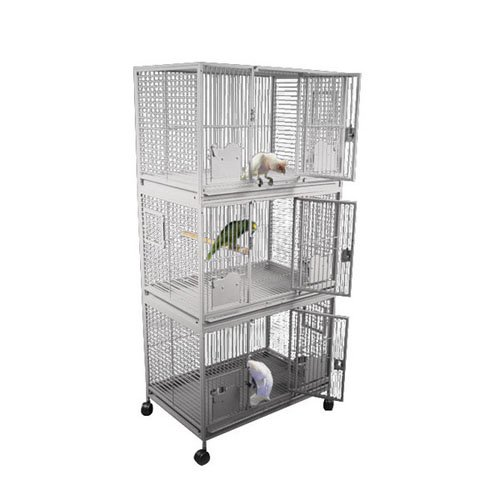 A and E Cage Co. Sanibel Triple Stack Bird Cage by A & E Cage Company LLC