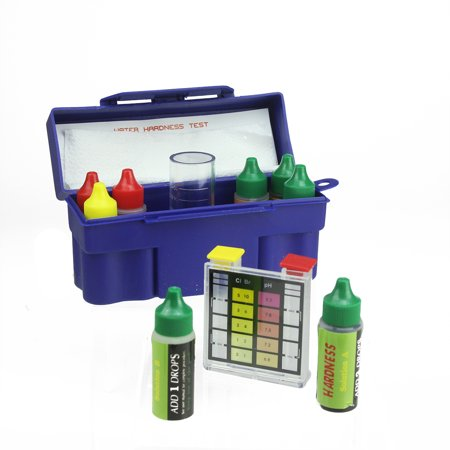 6-Way Test Kit with Testing Block and Case for Swimming Pools and Spas - Test Tube For Sale