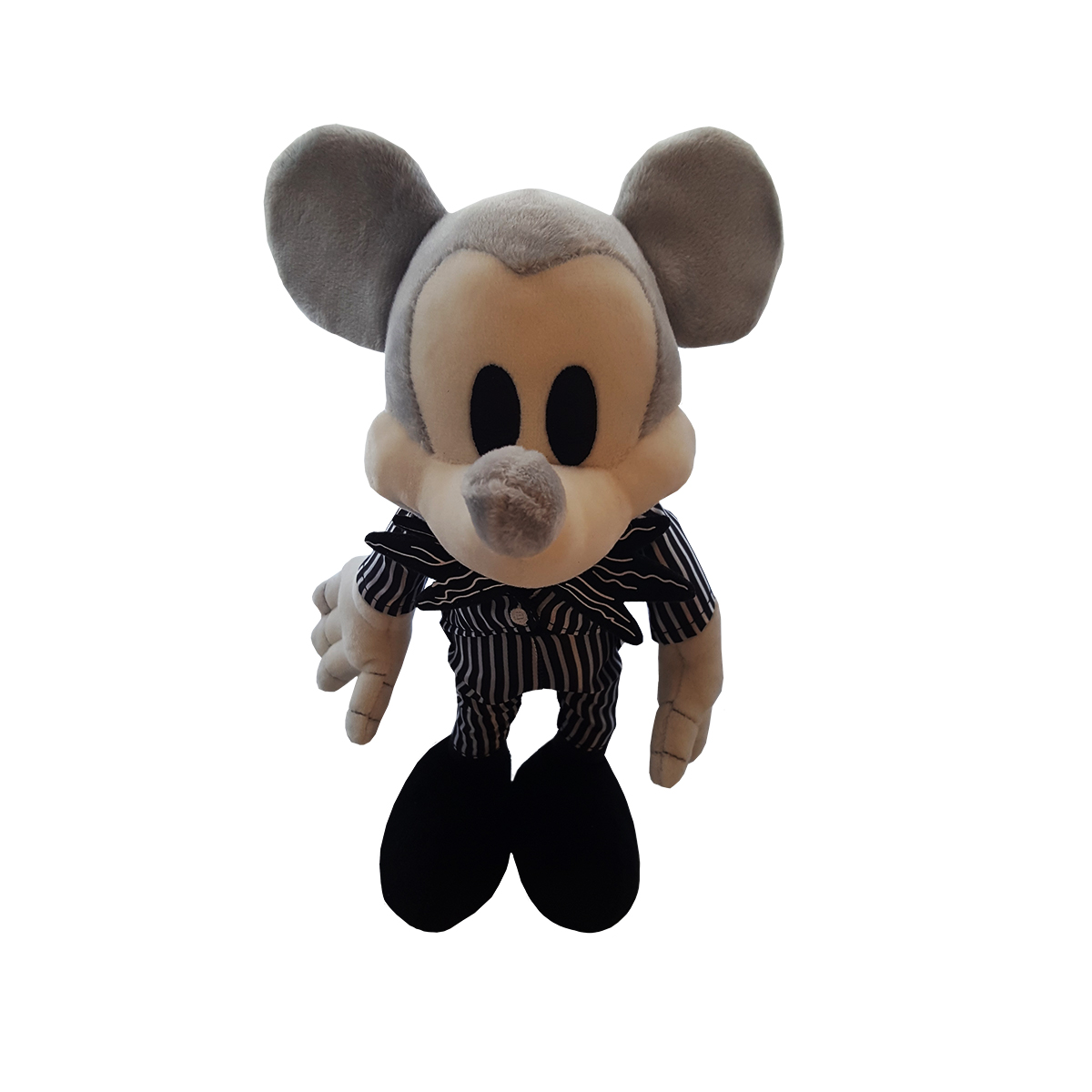 Disney Parks The Nightmare Before Christmas Jack Skellington Mickey Mouse Plush