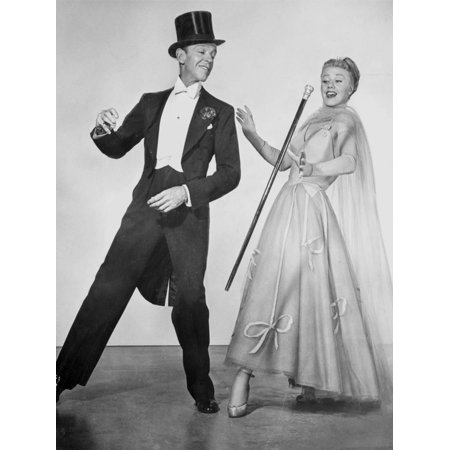 Scenes From A Hat Ideas (Fred Astaire and Ginger Rogers Dancing Scene from Top Hat Film Print Wall Art By Movie Star)