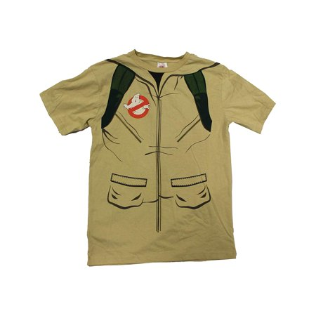 Halloween Costumes For Bigger Guys (Adult's Ghostbusters Shirt With Inflatable Proton Gun)