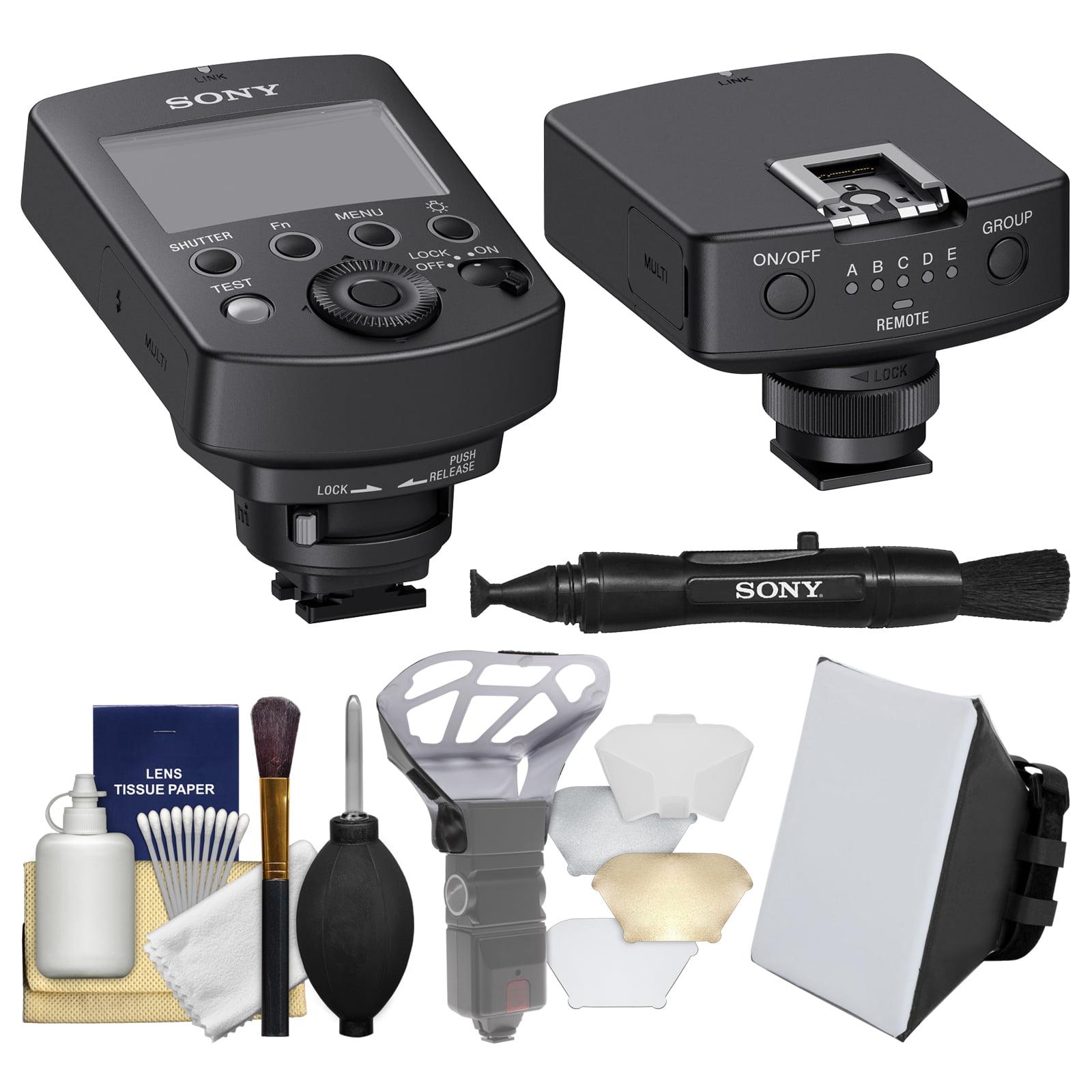 Sony FA-WRC1M Wireless Radio Commander with Radio Receiver + Soft Box + Diffuser Bouncer + Kit