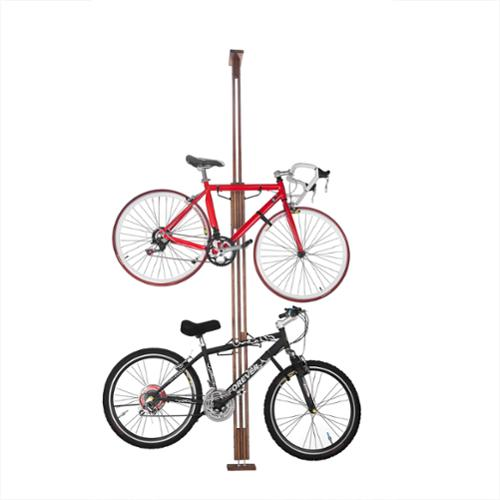 RAD Cycle Products Woody Bike Stand Bicycle Rack Storage or Display for Two Bicycles