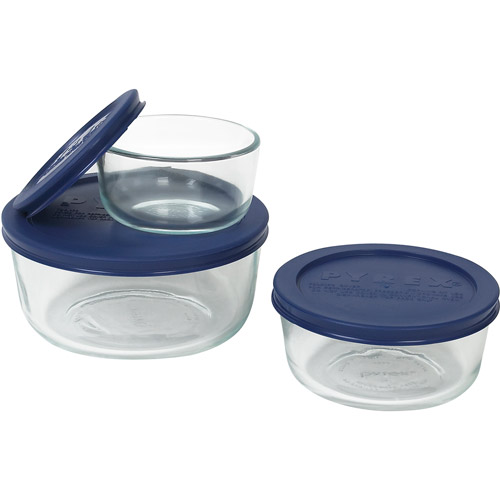 Pyrex 6-Piece Storage Plus Set