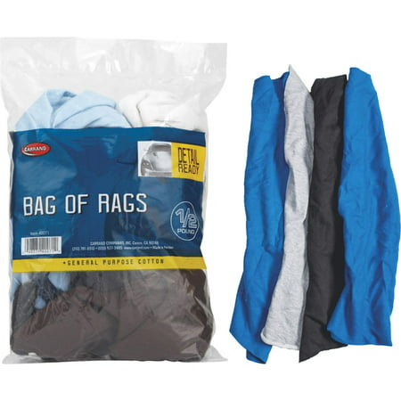 Bag of Rags 1/2 lb - 152 Rags