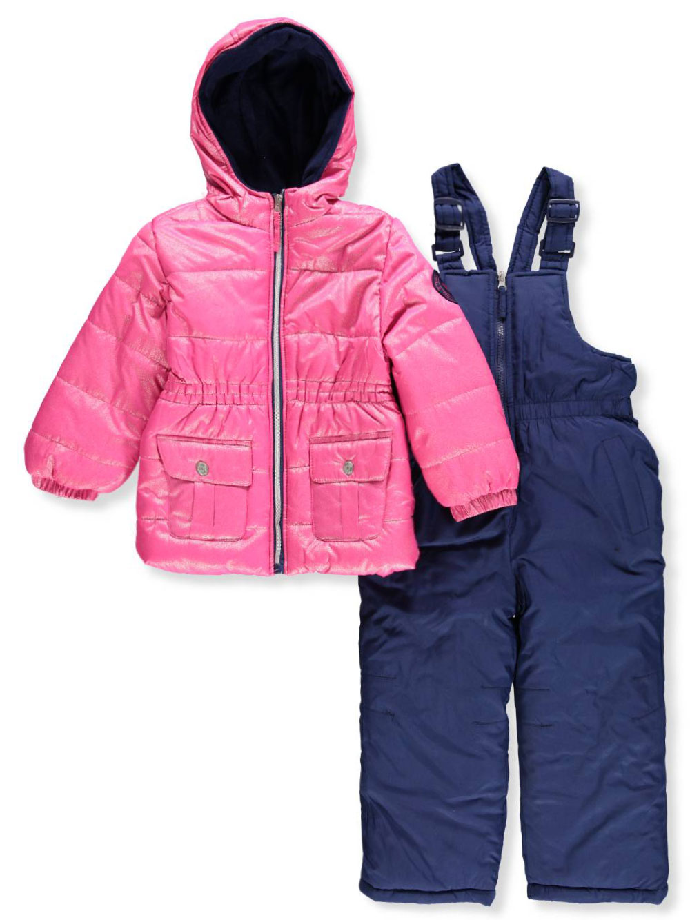 Pink Platinum Girls' 2-Piece Snowsuit