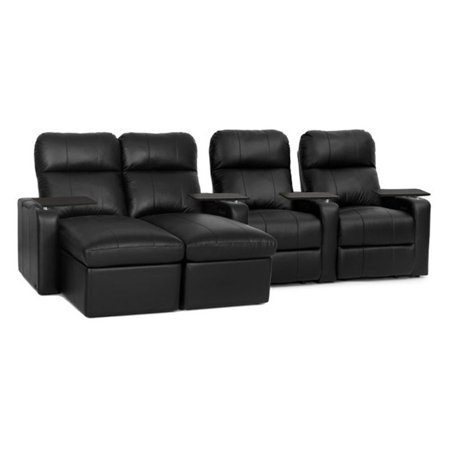 Octane Seating Turbo Xl700 Reclining Chaise Lounge Loveseat Leather Home Theater