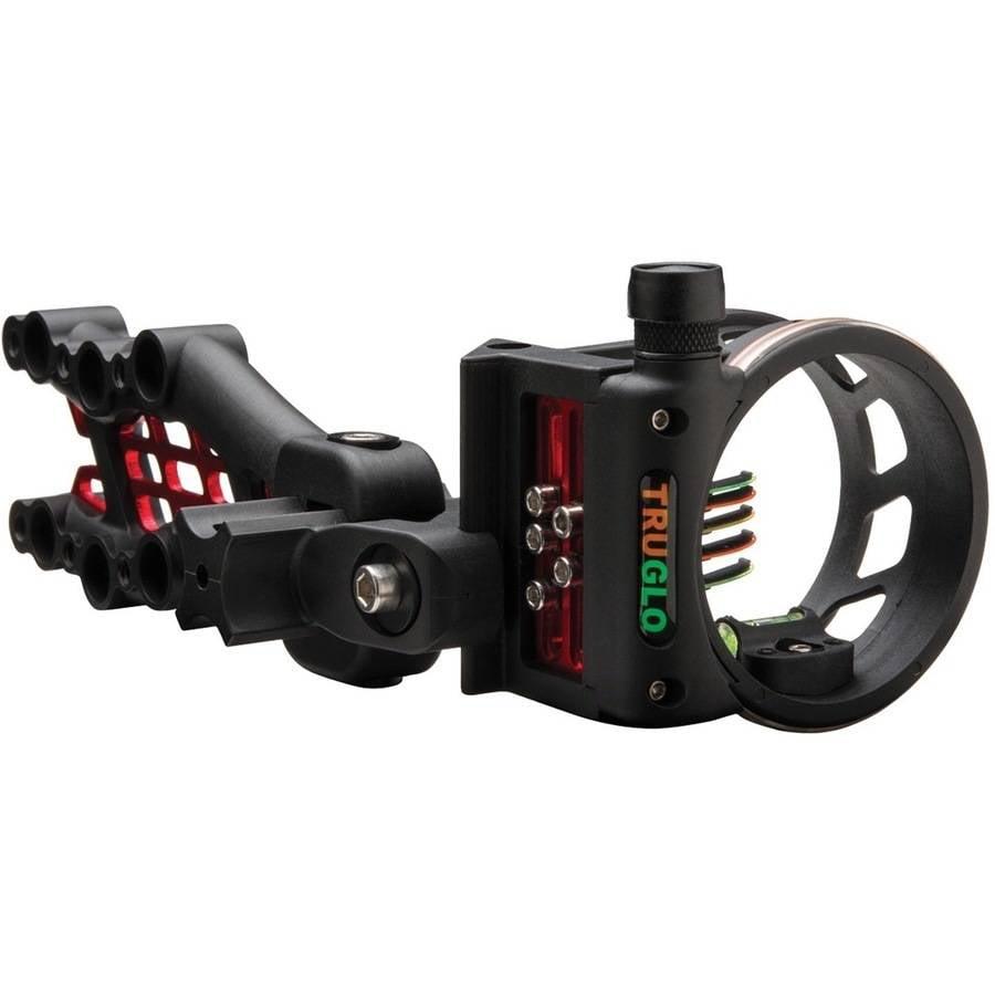 TRUGLO Carbon Hybrid 5-Pin Sight, Black