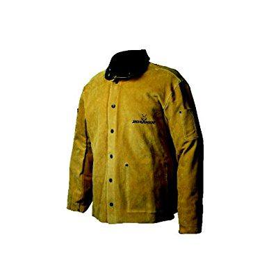 Caiman 3030-4 Medium 30-Inch Gold Boarhide Welding Coat ()