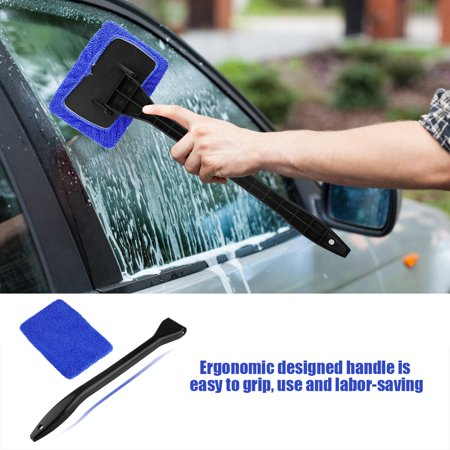 Garosa Car Windshield Cleaning Brush Automobile Window Dust Dirt Removal Tool Easy to Use Car Cleaning Tool Windshield Cleaning Brush - image 9 of 11