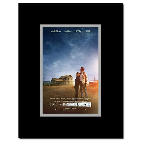 Interstellar Framed Movie Poster Walmart Com Walmart Com