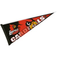 """Louisville Cardinals 12"""" X 30"""" Felt College Pennant"""