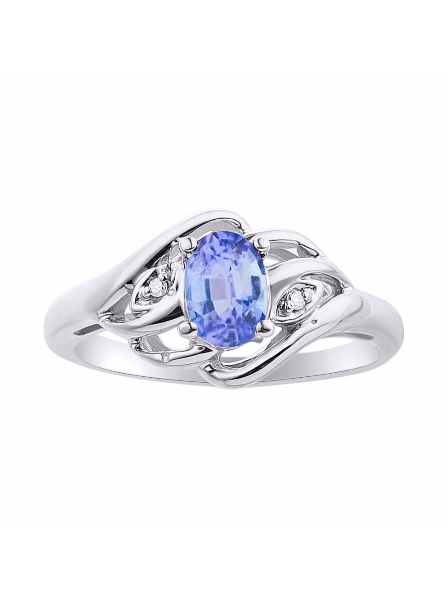 Details about  /Tanzanite Gemstone Anniversary Jewelry 14k White Gold Ring