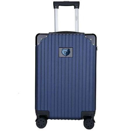 Memphis Grizzlies Premium 21'' Carry-On Hardcase Luggage - Navy