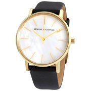 Armani Exchange Lola Quartz Cream Dial Ladies Watch AX5561