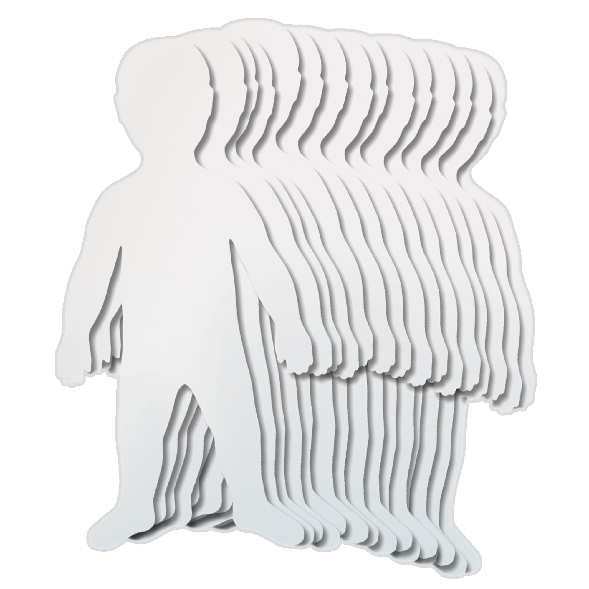 "Roylco® Giant Paper Kids, 18"" x 35"", 24/Pack"