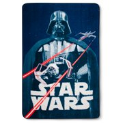 Star Wars Classic Logo Blue Bed Blanket (Twin) 62 x 90