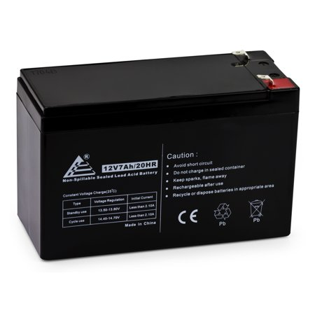 12V 7Ah Replacement Battery for Mighty Mule NP7-12 12V 7.0Ah ()