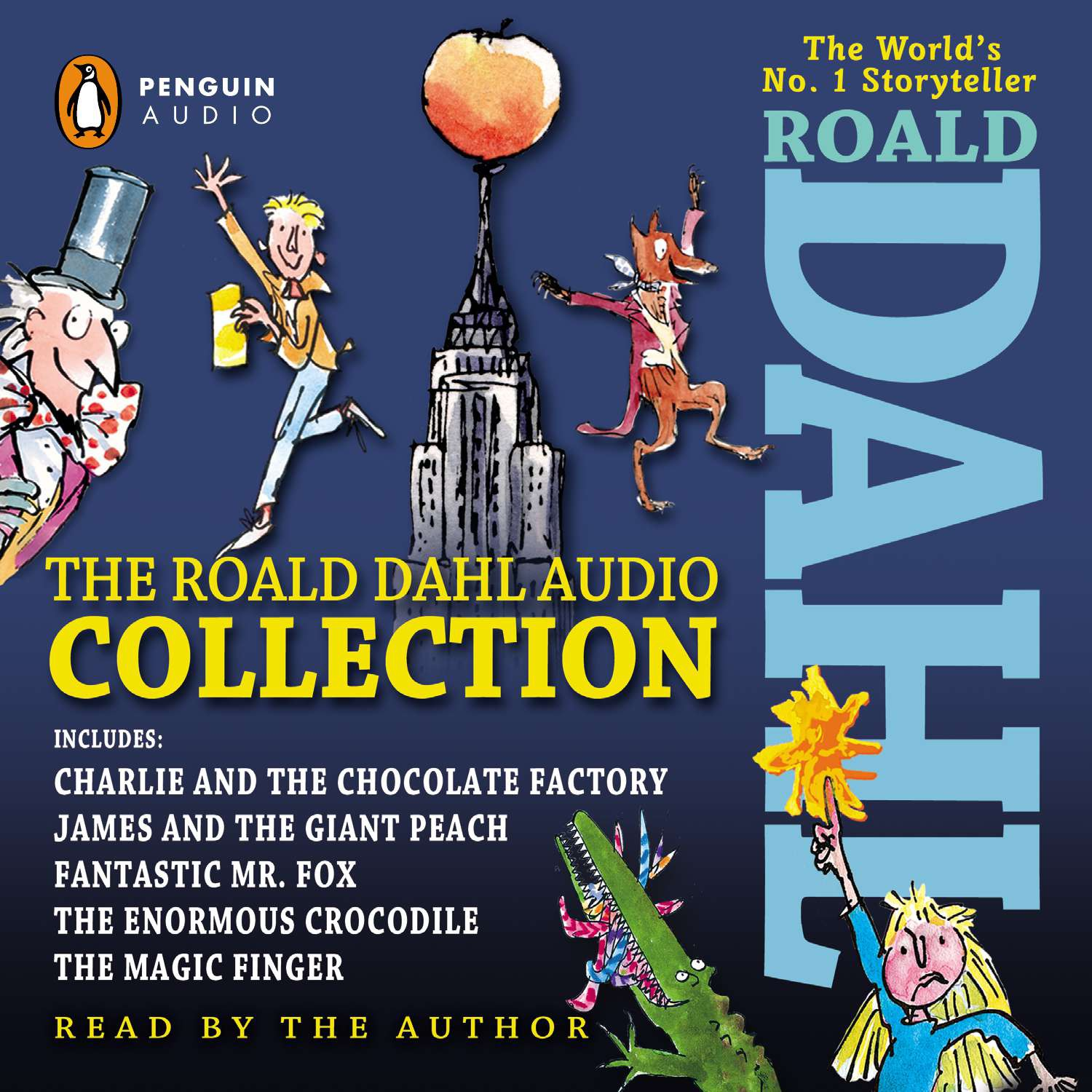 The Roald Dahl Audio Collection : Includes Charlie and the Chocolate Factory, James & the Giant Peach, Fantastic M r. Fox, The Enormous Crocodile & The Magic Finger