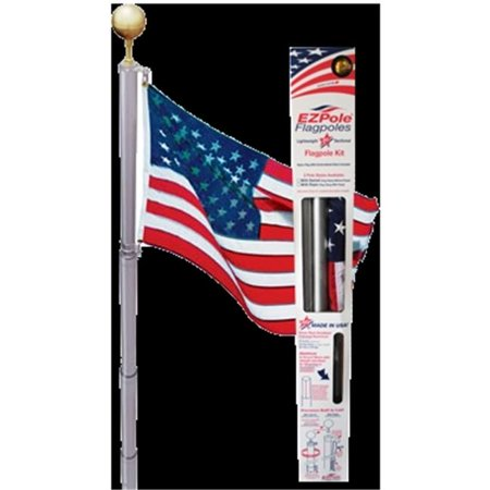 EZPOLE Flagpoles L-17 Liberty 17 ft. Flagpole Kit