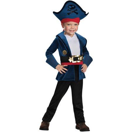 Captain Jake Classic Boys Child Halloween Costume