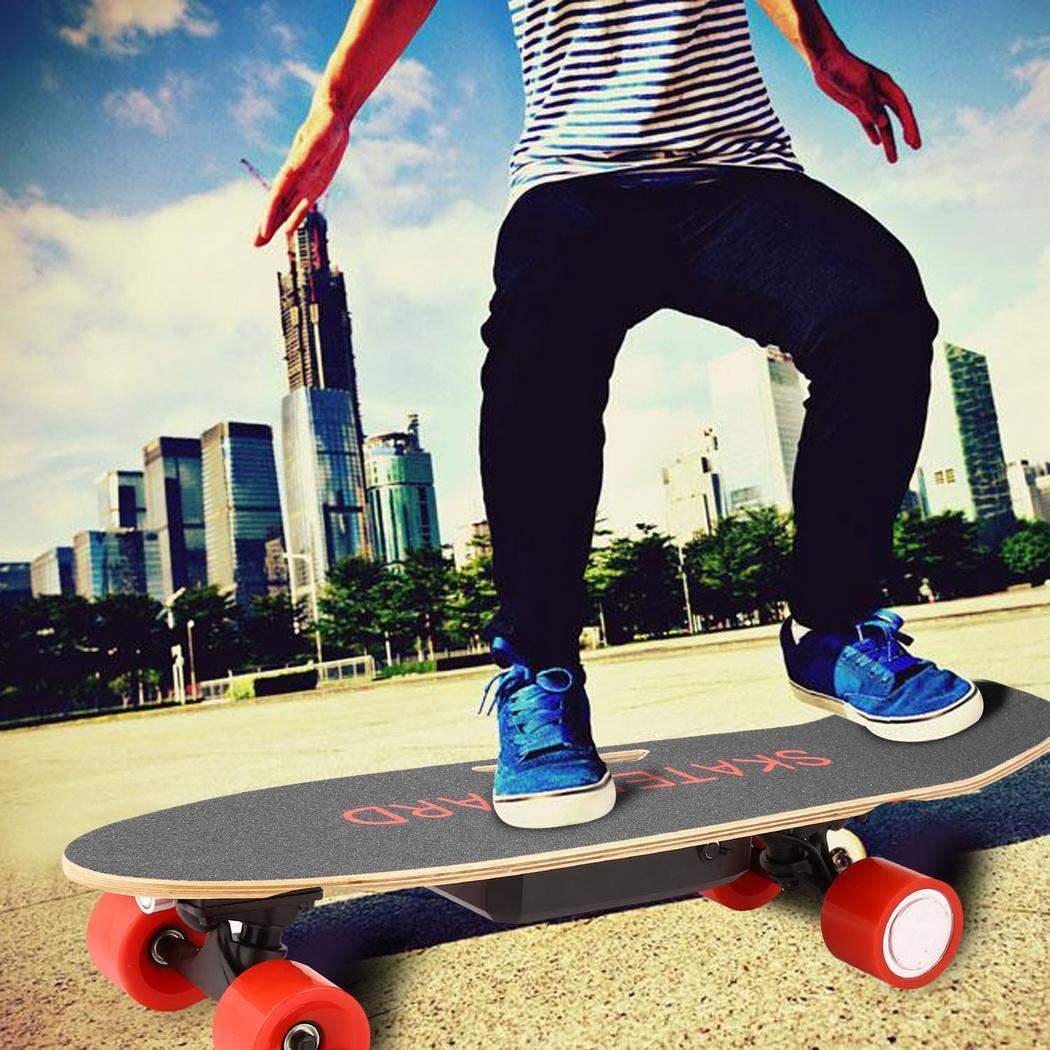 Bluetooth Speaker Electric Skateboard Longboarding Pen.ny Board with Front Light Remote Controller SPHP by