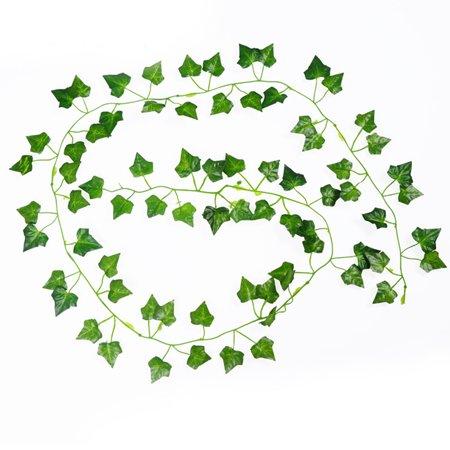 Begonia Leaf (2m Creeper Begonia Artificial Ivy Leaf Vine Fake Plants Home Wedding Decor )