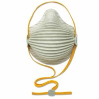 Airwave N95 Disposable Particulate Respirators, Oil-Free Filters, M/L, 10/bx, Sold As 1 Box, 10 Each Per Box