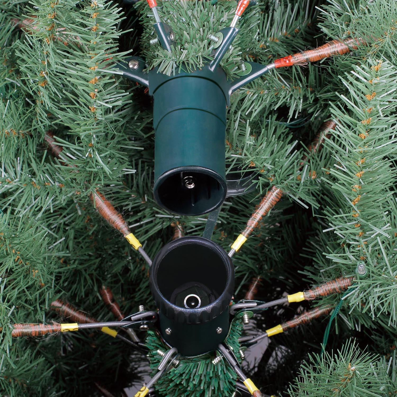 Holiday Time Prelit 7.5\' Liberty Pine Artificial Christmas Tree ...